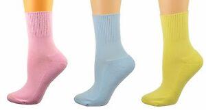 Sierra Socks Health Diabetic Arthritic Cotton 3 Pair Pack Socks, Gift For Moms
