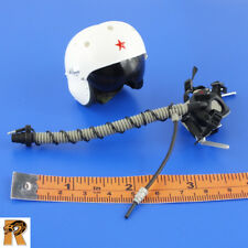 PLA Female Pilot - Flight Helmet & Mask - 1/6 Scale - Flagset Action Figures