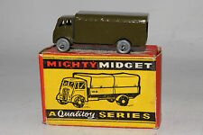 BENBROS DIECAST ENGLAND #30 ARMY WAGON MILITARY TRUCK, EXCELLENT, BOXED, LOT A