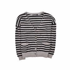 Filippa K SEÑORA CARDIGAN SUÉTER Sweater talla S (36) merino lana a rayas 90128