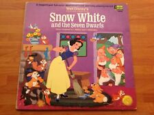 WALT DISNEY'S story & songs from SNOW WHITE and the seven dwarfs 33rpm Vinyl LP