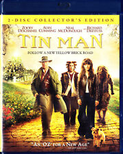 Tin Man (Blu-ray Disc, 2010, 2-Disc Collectors Edition) New