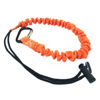 Carabiner Lanyard Retractable Safety Rope Telescopic Nylon Elastic Climbing Tool