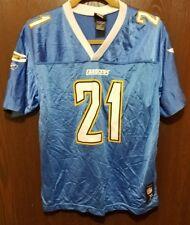 Reebok Blue LaDainian Tomlinson San Diego Chargers #21 Football Jersey Youth XL