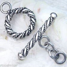 TG02 Toggle  25mm SILBER 925 Verschluss f. Kette u. Armband silver clasp 25mm