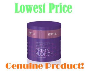 ESTEL PRIMA BLONDE Silberglanz-Maske Silver mask cold shades of blonde + GIFT