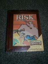 Risk ~ Parker Brothers Vintage Game Collection Wooden Book Box NEW! Free Ship!