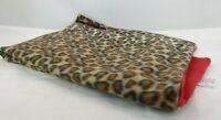 "Leopard Print Baby Blanket Fleece Soft Polyester 32"" x 28"" T3"
