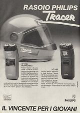 X3134 Rasoio PHILIPS Tracer - Pubblicità d'epoca - 1984 vintage advertising