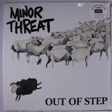 MINOR THREAT: Out Of Step LP Sealed (reissue, remastered from original source