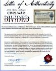 2019 Historic Autographs Civil War Divided ORLAND SMITH Signed Stock Certificate
