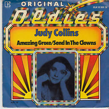 "7"" 45 TOURS ALLEMAGNE JUDY COLLINS ""Amazing Grace / Send In The Clowns"" 1974"