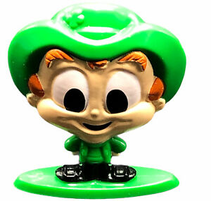 """General Mills Cereal Squad Lucky Charms Figurine Leprechaun Sir 2"""" Marshmallow"""