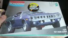 Monogram 2943 1971 Hemi PLYMOUTH Cuda 1/24 Model Car Mountain FS