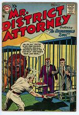 JERRY WEIST ESTATE: MR. DISTRICT ATTORNEY #59 & 61 (VG-) (DC 1957-58) NR!
