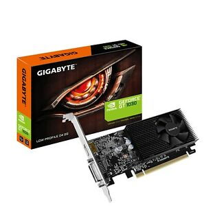 Gigabyte GT 1030 Low Profile D4 2GB DDR4 Single Fan Cooling System Graphics Card