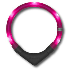Leuchthalsband LEUCHTIE plus Pink - 60