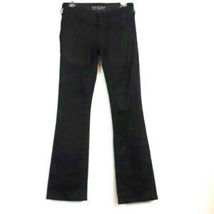 Affliction Jade Bootcut black denim women's jeans size 24