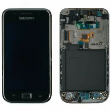 Original Samsung Galaxy S i9000 pantalla LCD táctil de vidrio cristal marco