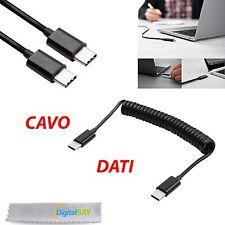 CAVO TRASFERIMENTI DATI E RICARICA USB 3.1 1 M TYPE-C NERO