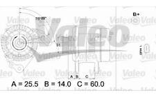 VALEO Alternador 90A Para VW POLO 437403