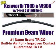 Wiper 1pk Beam - fits 2007-2015 Kenworth T800 W900 w/1-Piece Windshield - 19180