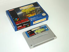 POPULOUS in box snes super nintendo videogame