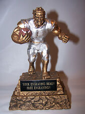 FANTASY FOOTBALL LARGE MONSTER INDIVIDUAL TROPHY AWARD - FREE ENGRAVING!!!!