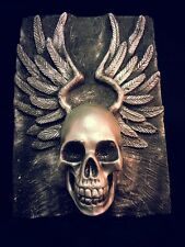 Flying Skull Plaque, Hells Angels, Warhammer, Game of thrones, magic, Fantasy