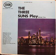 The Three Suns :  Play Midnight Time [LP vinyl EVON 328] USED GD