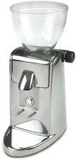 Ascaso I mini i-1 aluminium poliert Kaffeemühle mit Scheibenmahlwerk