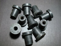 """10 pc Mopar 1/4-20 rubber well nuts .830"""" length 1/2"""" hole Plymouth Dodge DeSoto"""