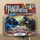 Jolt & Ravage MOSC Robot Heroes Transformers RotF Revenge of the Fallen