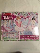 Melissa & Doug Bella Ballerina floor puzzle 48 pcs NIB