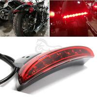 1Pc Motorcycle Fender Tail Light LED Turn Signal Brake For Harley Chopped Bobber