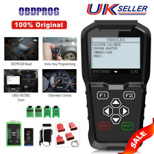 OBDPROG MT601 Key Programming IMMO Mileage Odometer Correction OBD2 Scanner Tool