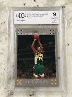 2007-08 Topps Chrome #131 Kevin Durant BECKETT 9 RC Supersonics OKC Dubs Nets
