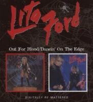 LITA FORD 'OUT FOR BLOOD/DANCING ON THE...' CD NEW!