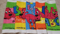 1 New Kitchen Crochet Top Towel #W151 - #W160 -- Clifford the Big Red Dog