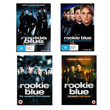 Rookie Blue Season 1, 2, 3 & 4 DVD New Sealed