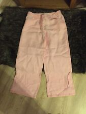 New & Pretty Laura Ashley Linen Capri Pants or Longer Shorts, No Tags