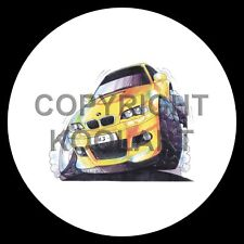 Koolart 4x4 4 x 4 Spare Wheel Graphic Bmw M3 Coupe Sticker 1162
