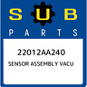 22012AA240 Subaru Sensor assembly vacu 22012AA240, New Genuine OEM Part