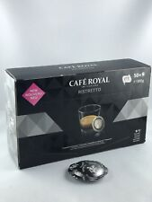 200 Stk Cafe Royal für Nespresso Pro Buisness Pads Ristretto 5,33€/100gr