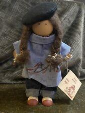 Lizzie High Doll Artist Barbara Helen 10� Wood Cloth