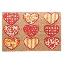 Paillassons, tapis de sol rouge pour la maison, 40 cm x 60 cm