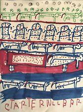 Carter Lee Wellborn Brut Folk Outsider Art Drawing