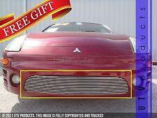 GTG 2003 - 2005 Mitsubishi Eclipse 1PC Polished Bumper Billet Grille Grill