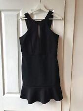 River Island Black Dress Size 12 Black New BNWT