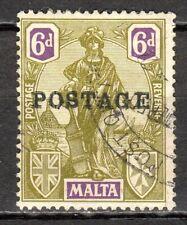 Malta - 1926 Definitive Melita overprinted - Mi. 109 VFU
